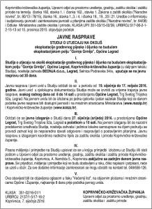 KOPRIVNICA OKOLIS VL 12.1